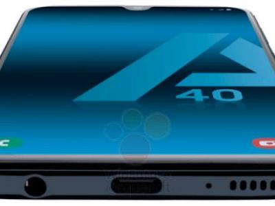 Leaked renders show off the Galaxy A40, to include dual-rear camera, Infinity U display
