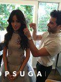 You Won't See These Photos of Camila Cabello Getting Ready For the Grammys Anywhere Else