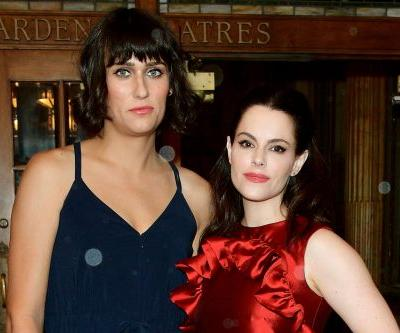 Teddy Geiger and 'Schitt's Creek' star Emily Hampshire are engaged