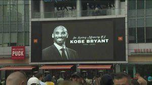 'Didn't know where else to go:' Fans Gather Outside Staples Center Following Death of Kobe Bryant