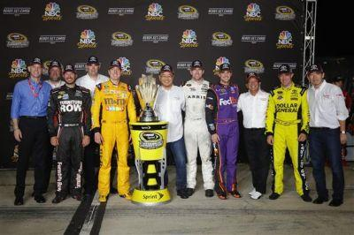 2016 Sprint Cup Grid Heading into Chase at Chicagoland