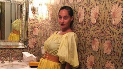 Tracee Ellis Ross Aces the Covered-Up Summer Aesthetic