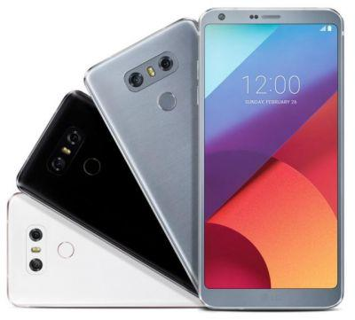 New Leak Shows LG G6 In Three Color Configurations