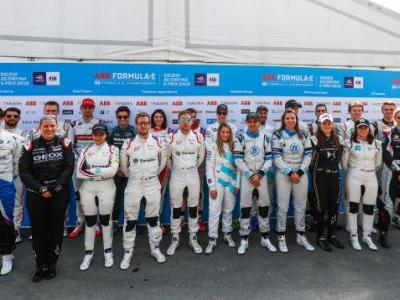 First In-Season Formula E Test Features Nine Female Racers