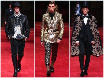Dolce & Gabbana Looks to the Opera for Spring '17 Alta Sartoria Collection