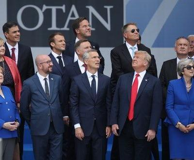 This Photo of Donald Trump At The NATO Summit Sums Up His Presidency