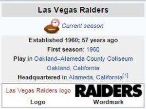 Oakland Raiders Officially Submit Application To Relocate To Las Vegas