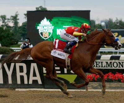 Justify completes Triple Crown with Belmont triumph