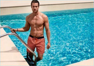 Jason Morgan is Pool Ready for Calida Spring '17 Campaign