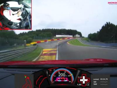 Watch The Honda Civic Type R Go 3sec Faster Than The Old One At Spa