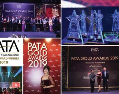 Diethelm Travel Group Accepts PATA Gold Award for Marketing Media