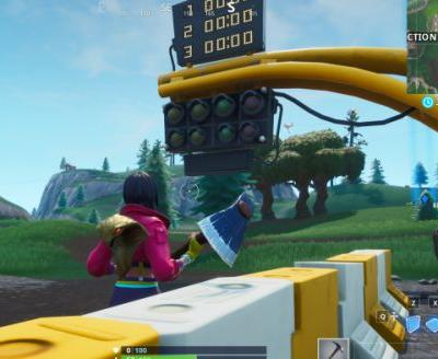 Fortnite: all race track locations