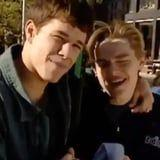 This 1994 Clip of Mark Wahlberg and Leonardo DiCaprio Proves Just How Far Back They Go