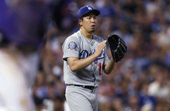Dodgers send right-handers Maeda and Stripling to bullpen