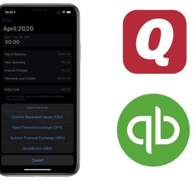 Apple Card Transactions Can Now Be Exported in Quicken and QuickBooks Formats