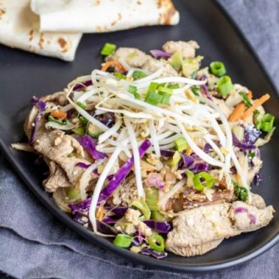 LOW CARB MOO SHU PORK
