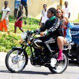"""Beyoncé and JAY-Z Are """"on the Run"""" While Filming a New Music Video in Jamaica"""