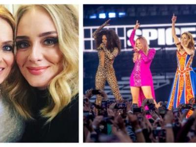 You Must Watch Adele Adorably Fangirling At The Spice Girls Concert