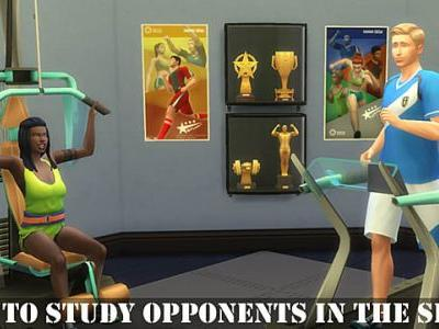 The Sims 4: How to Study Opponents