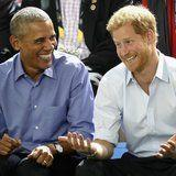 Prince Harry and Barack Obama Are Best Buds in This Sneak Peek of Their BBC Interview