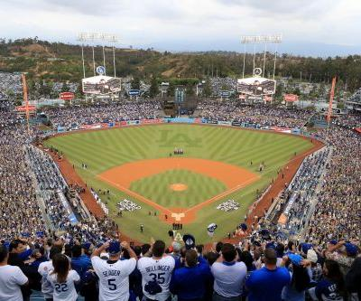 Elderly woman killed by foul ball at Dodgers game