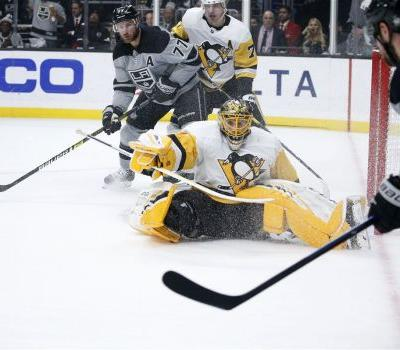 Guentzel scores twice but comeback falls short and Penguins bow to Kings, 5-2