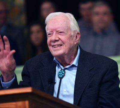 Former President Jimmy Carter recovering after breaking hip