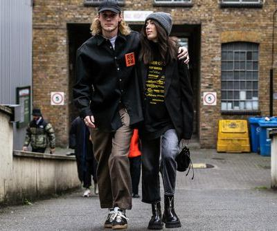 Street Style at London Fashion Week: Men's was All About Bold Patterns & Big Logos