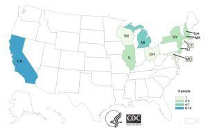 2017 and 2018 E. coli Romaine Outbreaks Linked