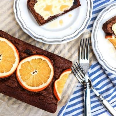 Paleo Orange Date Bread
