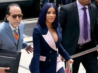 Cardi B's most sartorial fashion moments in court