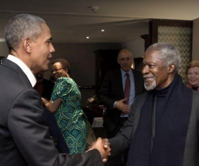 Obama Reacts to Death of Kofi Annan: He 'Never Stopped His Pursuit of a Better World'