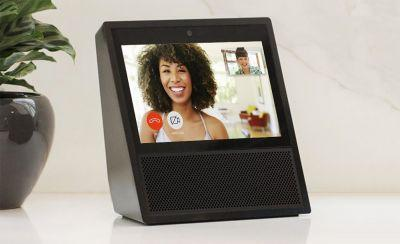 Amazon's Echo Show displays your smart camera's live video feed