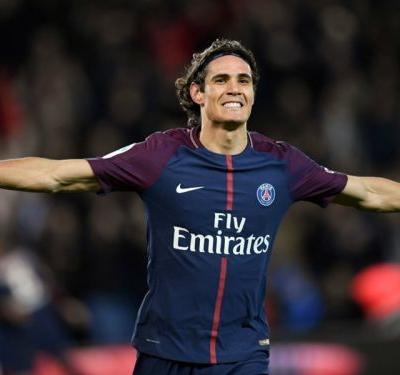 Cavani nets to break Ibrahimovic's PSG scoring record