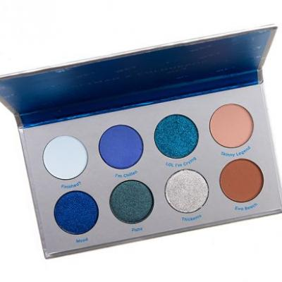 ColourPop Wet 8-Pan Pressed Shadow Palette Review & Swatches