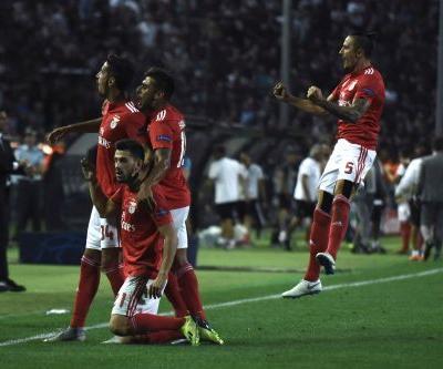 Benfica, PSV, Red Star reach Champions League group stage