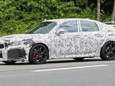 Next-Gen, Possibly Hybrid Honda Civic Type R Spotted Testing