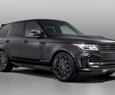 Overfinch Velocity Range Rover Is Rather Bold