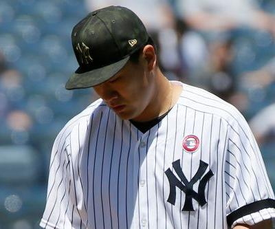 Masahiro Tanaka exits, lets out scream in another Yankees mishap