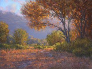 Autumn Morning Owens Valley 18x24 pastel