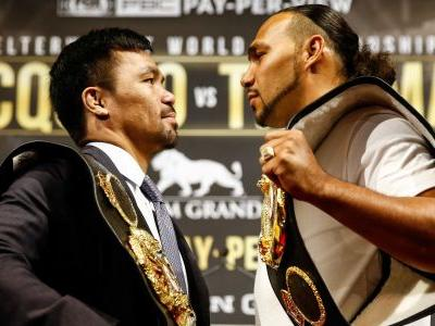For Keith Thurman, Manny Pacquiao fight serves as the Floyd Mayweather bout that eluded him