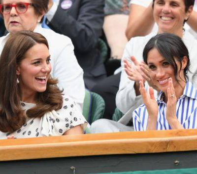 Meghan Markle & Kate Middleton's Wimbledon Date - See the Pics!