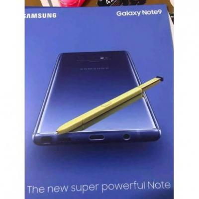 Latest Samsung Galaxy Note 9 leak shows off headphone jack, S Pen, and more