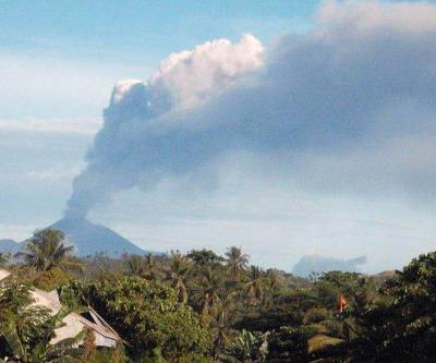 Volcano erupts on same Indonesian island as earlier earthquake