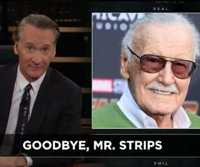 Bill Maher Defends Stan Lee Comments Yet Again, Says Comic-Book Fans Are Stuck in an 'Everlasting Childhood'