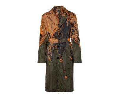 Dries Van Noten's FW18 Ebru Shell Coat Is Available Exclusively at MR PORTER