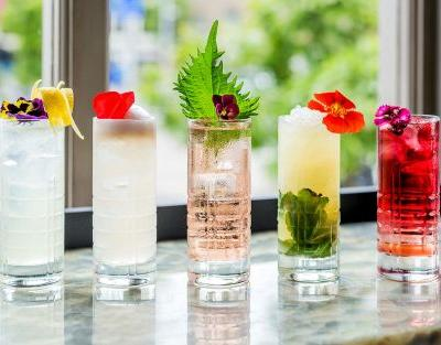 Allotment cocktails: why 'garden' garnishes are the next big thing in gin