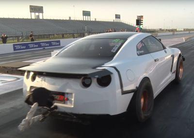 This Nissan GT-R Just Set A Record Breaking 6 Second 1/4 Mile
