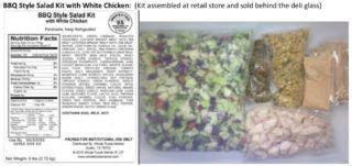 Salad recall includes Whole Foods 365 brand; corn poses risk of infection