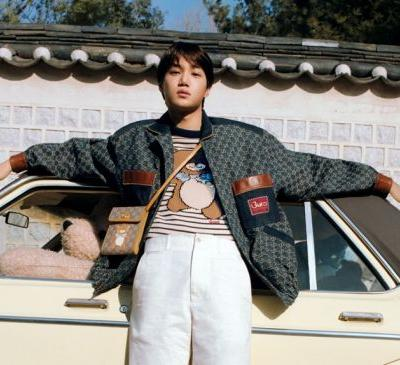 EXO star Kai joins forces with Gucci on a new collab